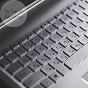 Лазерная гравировка клавиатуры. Гравировка ноутбука.