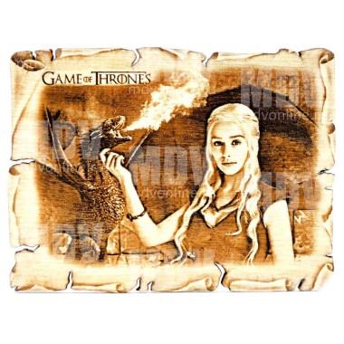 Игра престолов магнитик Дейенерис