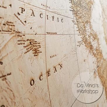 Карта мира на стену большая